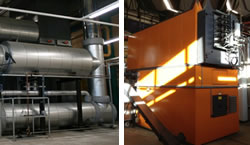 Heating & Power plus Biomass boiler