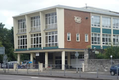 University of Portsmouth - side view